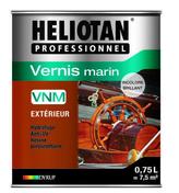 Vernis marin HELIOTAN VNM 0,75L brillant naturel - Brique en terre cuite CALIBRIC de structure monomur ép.30cm larg.12,4cm long.50cm - Gedimat.fr