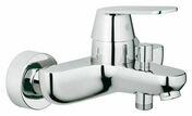 Mitigeur bain-douche EUROSMART COSMOPOLITAN GROHE laiton chormé - Bains-douches - Plomberie - GEDIMAT