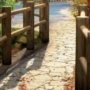 Rondin en bois pin pour clôture RANCH diam.8 cm long.2,00m brun Classe 4 - Bois Massif Abouté (BMA) Sapin/Epicéa non traité section 100x200 long.12,50m - Gedimat.fr