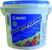 Adhésif en pâte ADESILEX P22 PLUS - classe D2TE - seau de 5kg - Bi-tuile pour châtière passe-barre PLATE 17x27 coloris Chevreuse - Gedimat.fr
