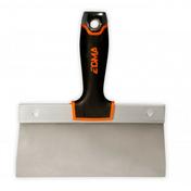Couteau à enduire lame inox ultra flexbile manche bi matière 250mm - Enduit de lissage mural en pâte BOSTIK seau de 5kg - Gedimat.fr
