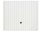 Porte de garage basculante tablier m�tallique nervur� DWM haut.2,15m larg.2,40m vendue sans portillon - Portes de garage - Menuiserie & Am�nagement - GEDIMAT