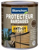 Protecteur anti UV 1L - Panneau de Particule Surfacé Mélaminé (PPSM) ép.8mm larg.2,07m long.2,80m Argent finition Perlé - Gedimat.fr