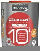 Décapant bâtiment 10' liquide - pot 5l - Décapants - Diluants - Aménagements extérieurs - GEDIMAT