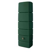 Cuve de récupération d'eau de pluie murale SLIM 300L verte - Enduit de parement traditionnel PARDECO TYROLIEN sac de 25kg coloris T44 - Gedimat.fr