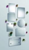 Miroir SOUTO long.50cm haut.65cm - Armoires de toilette et Accessoires - Salle de Bains & Sanitaire - GEDIMAT