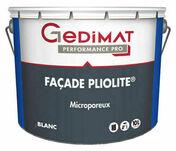 Peinture façade pliolite GEDIMAT 10L coloris blanc - Pavé pierre bleue 20X20X2,5 cm - Gedimat.fr