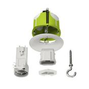 Boite de centre air à fixer avec kit DCL non affleurante E27 - Modulaires - Boîtes - Electricité & Eclairage - GEDIMAT