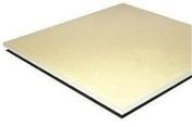 Plaque de plâtre standard PLACOPLATRE NF BA15 - 2,50x1,20m - Laine de verre ULTRACOUSTIC HOSP non revêtue - 8x0,9m Ep.45mm - R=1,20m².K/W. - Gedimat.fr