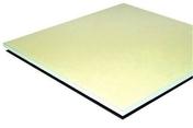 Plaque de plâtre spéciale PLACOPLATRE PV BA13 - 2,50x1,20m - Laine de verre TI 216 revêtue kraft - 13,5x0,6m Ep.45mm - R=1,20m².K/W. - Gedimat.fr