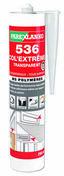 Mastic polymère 536 COL'EXTREM cartouche 290ml coloris translucide - Pâtes et Mastics sanitaires - Plomberie - GEDIMAT