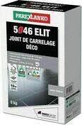 Joint de carrelage déco 1 à 6mm 5046 ELIT seau de 5kg coloris perle - Joints - Plomberie - GEDIMAT
