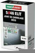 Joint de carrelage déco 1 à 6mm 5046 ELIT seau de 5kg coloris blanc - Accroche VS LEADER carton de 12 pièces - Gedimat.fr
