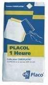 Colle carreau de plâtre PLACOL 1H - sac de 25kg - Sol stratifié SOLID PLUS lames ép.12mm larg.214mm long.1286mm coloris Jefferson - Gedimat.fr