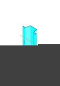 Profilé lisse MEGASTIL 50/30 - 4,80m - Plaque de plâtre déco PREGYPLAC BA13 - 2,70x1,20m - Gedimat.fr