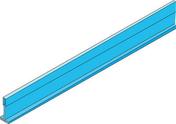 Porteur renforcé 15 PANEL couloir - 1,83m - Tige filetée acier zingué diam.6mm long.1m en lot de 100 pièces - Gedimat.fr