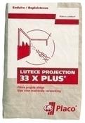 Plâtre en poudre à projeter LUTECE PROJECTION 33XPLUS - sac de 33kg - Plâtres en poudre - Isolation & Cloison - GEDIMAT