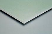 Plaque de plâtre hydrofuge GYPROC WR HYDRO BA13 - 2,50x1,20m - Mastic sanitaire silicone SA cartouche 300ml blanc - Gedimat.fr