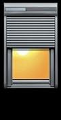 Volet roulant solaire pour fenêtre VELUX SSL SK06 - Tube Aluminium R4 pour garde-corps RONDO - Gedimat.fr