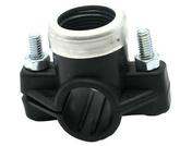 Collier prise en charge polyéth femelle plast ø32 - femelle G1/2 vrac étiqueté - Colliers de serrage - Plomberie - GEDIMAT