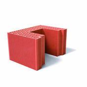 Brique poteau rectifié demi MONOMUR 37 - 375x275x212mm - Briques de construction - Matériaux & Construction - GEDIMAT
