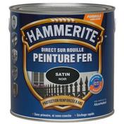 Peinture décorative antirouille CORONA HAMMERITE aspect martelé coloris noir 2,5L - Bois Massif Abouté (BMA) Sapin/Epicéa traitement Classe 2 section 45x95 long.5m - Gedimat.fr