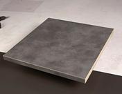 Plan de travail stratifié ép.38mm larg.1,2m long.4,1m R4 décor béton ciré - Doublage isolant plâtre + polyuréthane PREGYRETHANE 23 ép.10+60mm larg.1,20m long.2,50m - Gedimat.fr