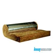 Laine de verre en rouleau TI 312 revêtue alu ép.120mm larg.1,20m long.7m surface 8,40m² - Toiture - Combles - Isolation & Cloison - GEDIMAT