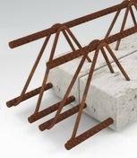 Poutre béton armé RAID 7 larg.10cm haut.7cm long.2,00m - Poutre en béton précontrainte LBI larg.15cm haut.35cm long.2,50m - Gedimat.fr