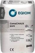 Chaux blanche NHL5 sac 25kg - Poutrelle treillis RAID long.béton 6.30m pour portée libre 6.25m - Gedimat.fr