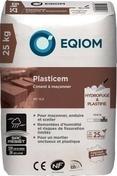 Ciment à maçonner 12,5 CE NF Plasticem sac de 25kg - Chaux blanche CEMA Pure NHL3.5 EQIOM sac de 25kg - Gedimat.fr