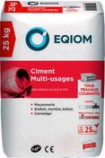Ciment gris CEM II CE NF 32,5 Multi-usages Holcims sac de 25kg - Treillis soudé carreleur type G maille 5x5 cm fils 1,8 et 1,4mm rouleau larg.1m long.50m - Gedimat.fr