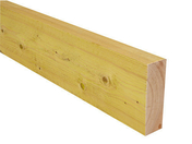 Bastaing Sapin/Epicéa traitement Classe 2 section 200x100mm long.6,00m - Dalle OSB3 ignifuge rainurée 4 Rives ép.18mm larg.675mm long.2.50m - Gedimat.fr