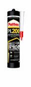 Colle mastic de fixation PL200 PATTEX cartouche de 450g - Carrelage pour sol en grès cérame émaillé TEOREMA dim.33,3x33,3cm coloris bianco - Gedimat.fr