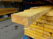 Bastaing Pin traitement Classe 4 section 75x150mm long.4,50m - TASSEAUX SAPIN IGNIFUGES 2050X32X20 - Gedimat.fr