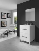 Meuble de salle de bains gedimat for Salle de bain gedimat