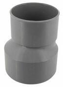 Réduction extérieure PVC NICOLL mâle diam.125mm femelle diam.100mm coloris gris - Poutrelle en béton LEADER 113 haut.11cm larg.9,5cm long.2,60m coutures - Gedimat.fr