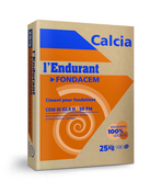 Ciment gris FONDACEM CEM III 32,5 N CE NF sac de 25kg - Poutrelle en béton LEADER 115SE haut.12cm larg.9,5cm long.3,20m - Gedimat.fr