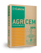 Ciment AGRICEM CEM V/A (S-V) 42,5 N CE PM-ES-CP1 - sac de 35kg - Gedimat.fr
