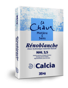 Chaux hydraulique RENOBLANCHE NHL 3,5 CE - sac de 35kg - Arrache liteaux de couverture LIT'UP - Gedimat.fr