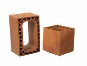 Boisseau de cheminée terre cuite alvéolé dim.int.30x30cm haut.33cm - Conduits de cheminée - Boisseaux - Matériaux & Construction - GEDIMAT