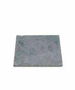 Dalle pierre naturelle Bluestone tambourinée Vietnam ép.2,5cm dim.40x40cm coloris bleutée - Laine de verre en rouleau MRK 40 revêtue kraft ép.120mm larg.1,20m long.6,50m - Gedimat.fr