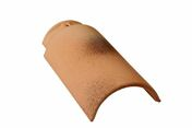 Faîtière/Arêtier à emboitement de 33 en terre cuite coloris silvacane littoral - Bloc-porte FUJI isolant revêtu mélaminé structuré finition gris basalte haut.204cm larg.73cm droit poussant - Gedimat.fr