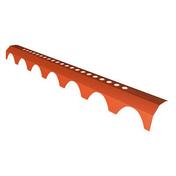 Closoir rigide FUNIPROFIL PLEIN CIEL pour 1/2 faîtage ventilé - Porte d'entrée Aluminium GEOD droite poussant haut.2,15m larg.90cm laqué gris - Gedimat.fr