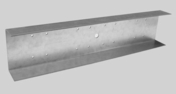 Eclisse 2PLUS acier 15/10 pour plafond PREGYMETAL boîte de 25 pièces - Plaque de plâtre hydrofuge BA13 KNAUF KH HYDRO ép.12,5mm larg.1,20m long.3,00m - Gedimat.fr