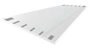 Plaque de plâtre prépeinte SYNIA déco 4BA13 ép.12,5mm larg.1,20m long.2,50m - Plaque finition plafond 180 Carrée - Gedimat.fr