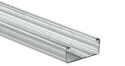 FourrurePREGYMETAL WAB S47-17/6,2 - 3m - Laine de verre ISOCONFORT 35 revêtue kraft - 3x0,60m Ep.200mm - R=5,70m².K/W. - Gedimat.fr