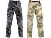 Pantalon de travail coton SECHURA coloris gris taille XL - Protection des personnes - Vêtements - Outillage - GEDIMAT