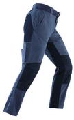 Pantalon de travail multi poches coton et genouillères polyuréthane Niger taille S noir/gris - Protection des personnes - Vêtements - Outillage - GEDIMAT