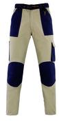 Pantalon de travail coton Teneré taille L beige/bleu - Tuile finition gauche à recouvrement MERIDIONALE coloris Saintonge - Gedimat.fr